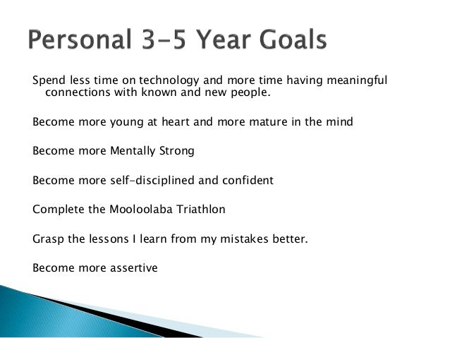 setting my three personal life goals The goal setting template for a high-output life  personal goals,  i can pick what my top three goals for the week should be to move me towards my.