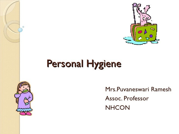 examples of good personal hygiene practices