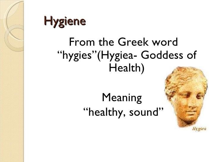Personal hygiene Slide 3
