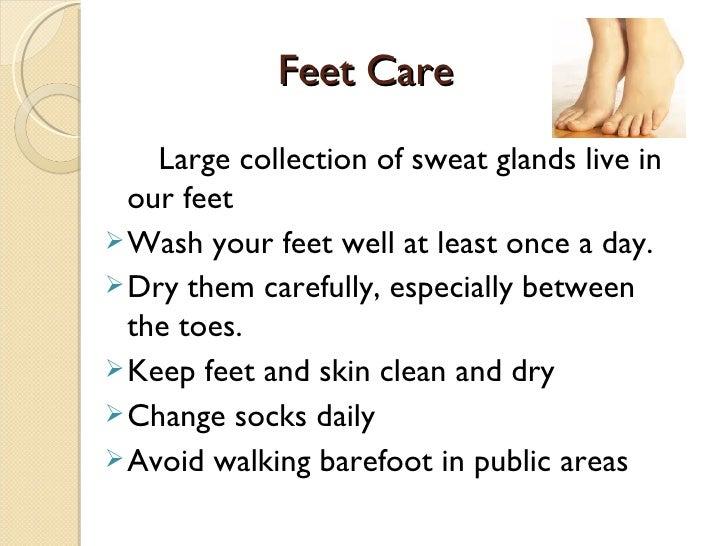 diabetic foot care lesson plan