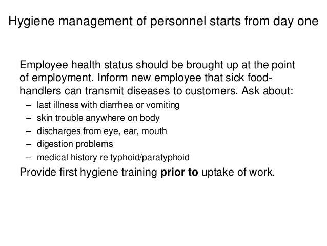 personal hygiene issues How to address body odor and other hygiene issues if the employee indicates the cause of a personal hygiene issue is a disability.