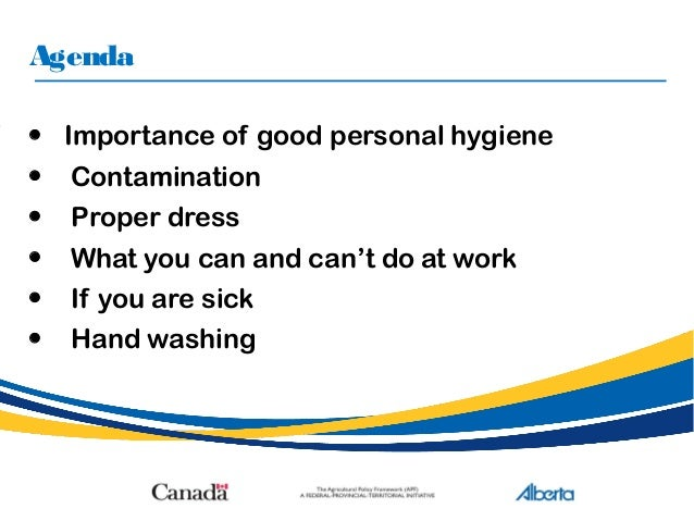 importance of cleanliness and hygiene At the very heart of a good business is good hygiene practices, whether this is on a personal level, or looking at the hygiene of the workplace as a whole.