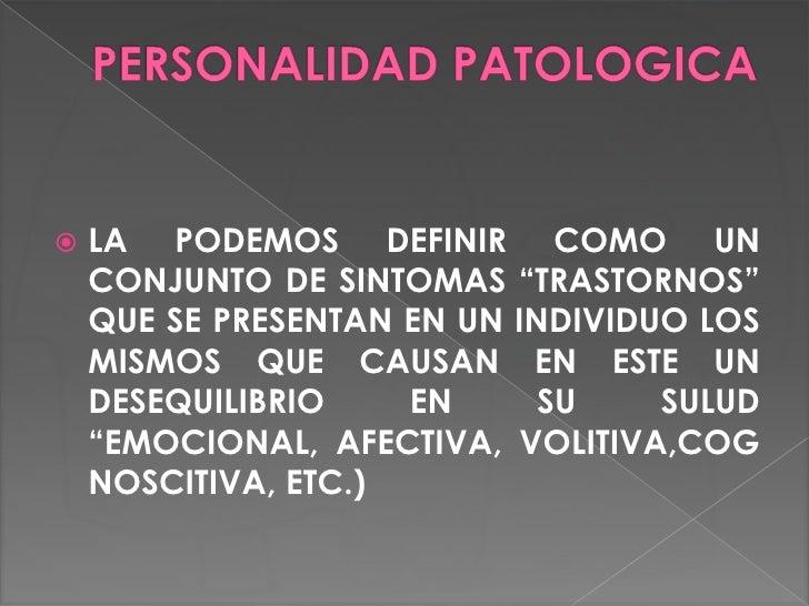 Personalidad patologica para exponer for Que es divan en psicologia