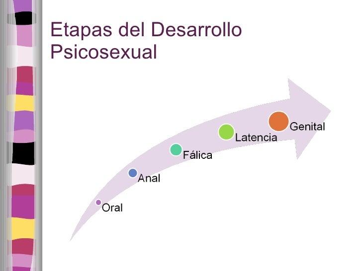 Etapas del Desarrollo Psicosexual