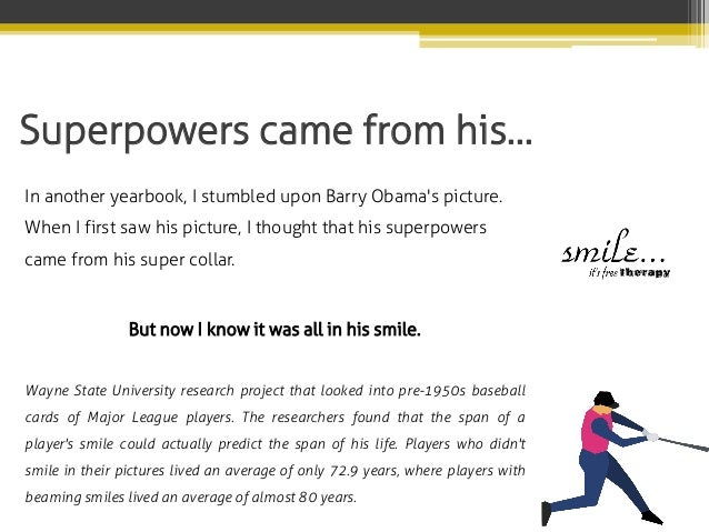 Superpowers came from his… In another yearbook, I stumbled upon Barry Obama's picture. When I first saw his picture, I tho...