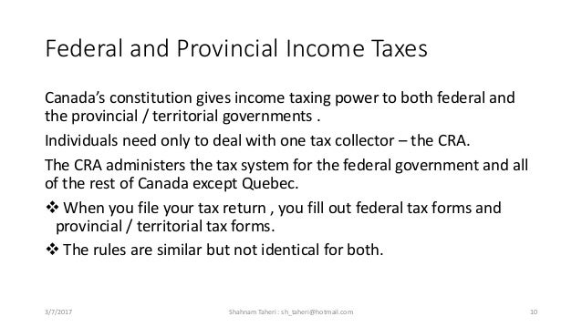 Personal income tax in canada 10 federal and provincial income taxes canadas ccuart Images