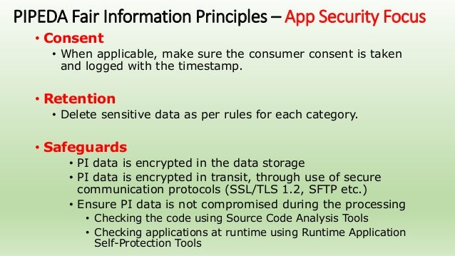 Personal Information Protection And Electronic Documents