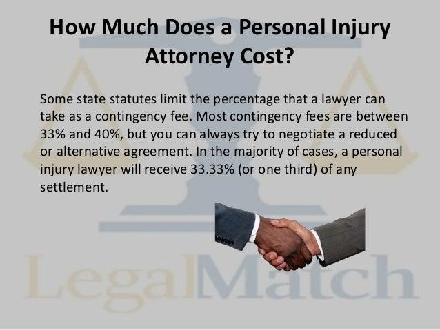 Personal Injury Attorney Fee Percentage