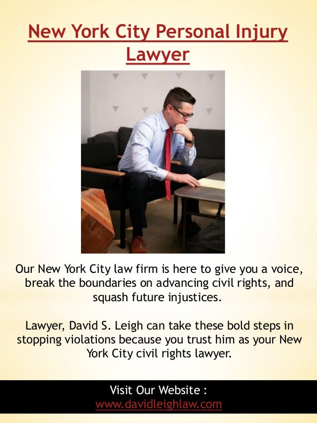 Personal injury lawyer nyc free consultation