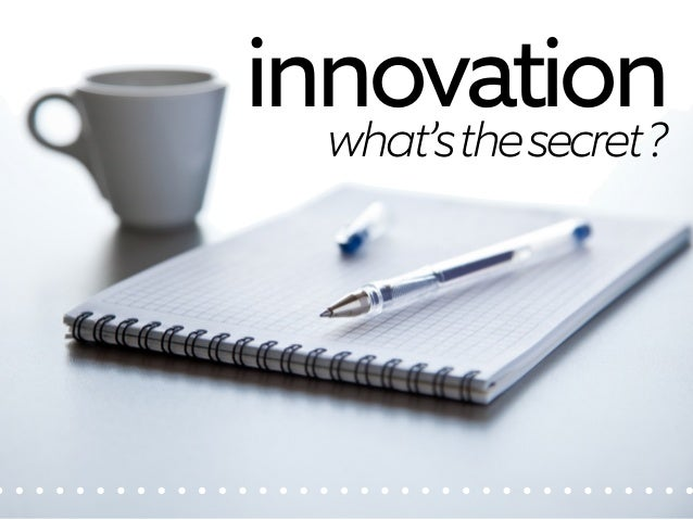 How to Be An Innovator: Your Personal Roadmap Slide 2
