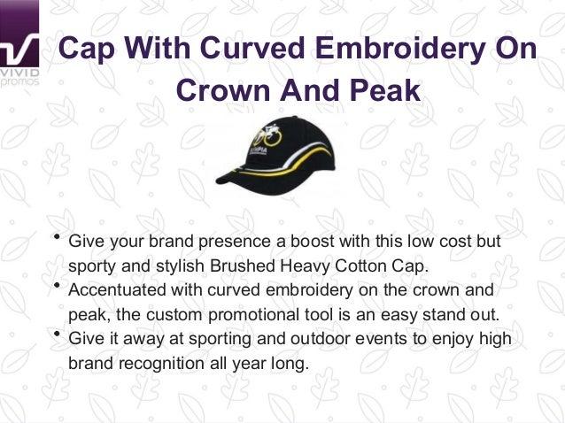 f2abde4b7aa Personalised Flat Peak Caps at Vivid Promotions