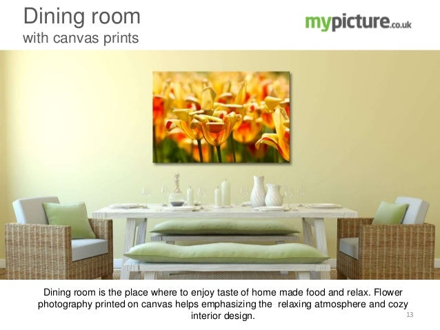 Personalised wall decor for creating a desired atmosphere in your home