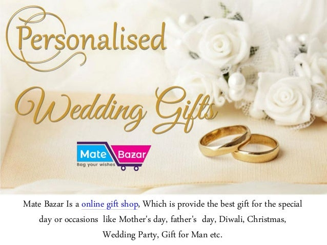 Buy Personalized Wedding Gifts Online In India Mate Bazar