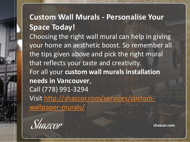 ... 8. Custom Wall Murals   Personalise Your Space Today! Choosing The Right  ...