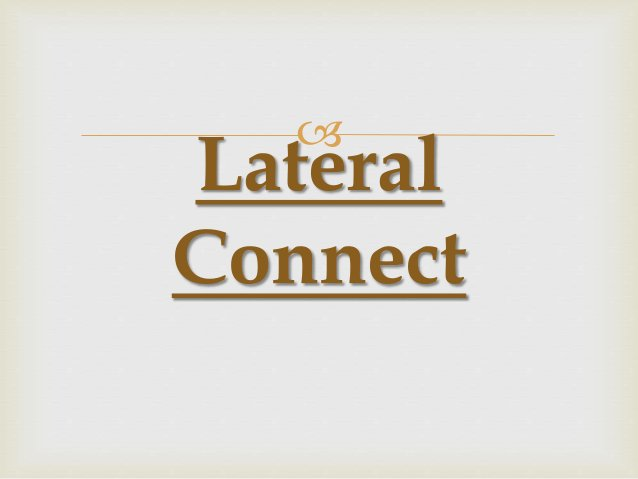  Lateral Connect