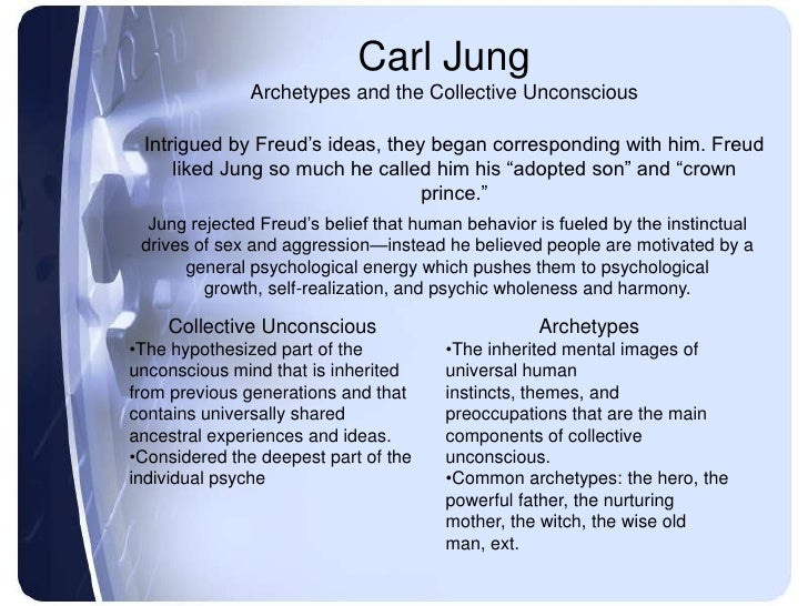 carl gustav jung a study on archetypes and their influence on the personality Jung, carl gustav - volume 9 - the  the archetypes of the collective unconscious  jung the study of the nature and function of the archetype is described as.
