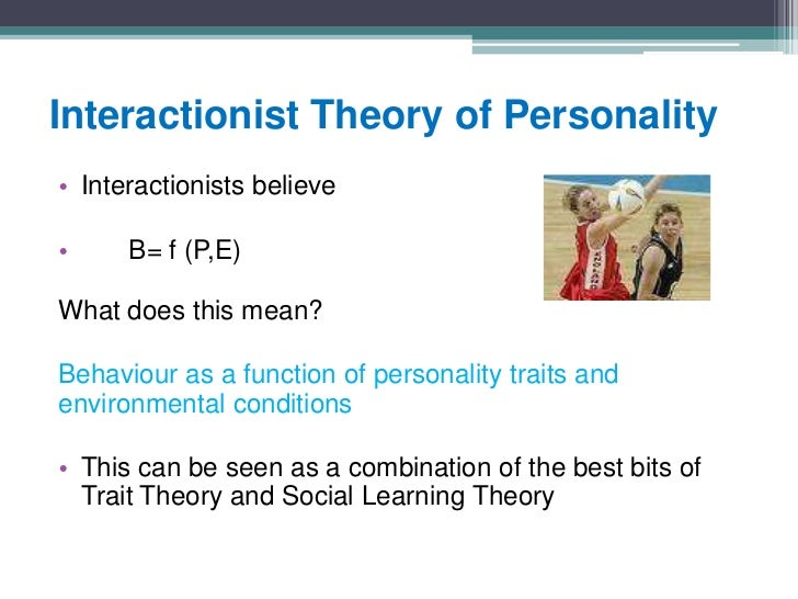 personalities theories paper Another area of exploration is concerned with establishing importance of staats behavioral repertoires in development of individual's personality lastly, the.
