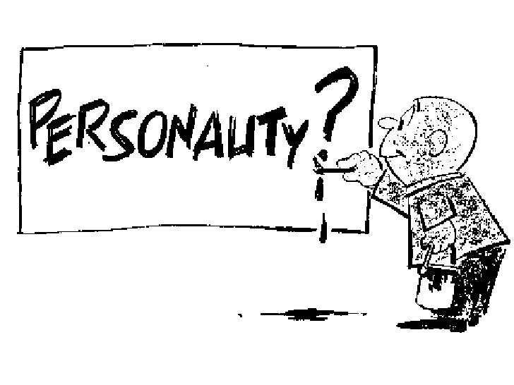 Personality Slide 2