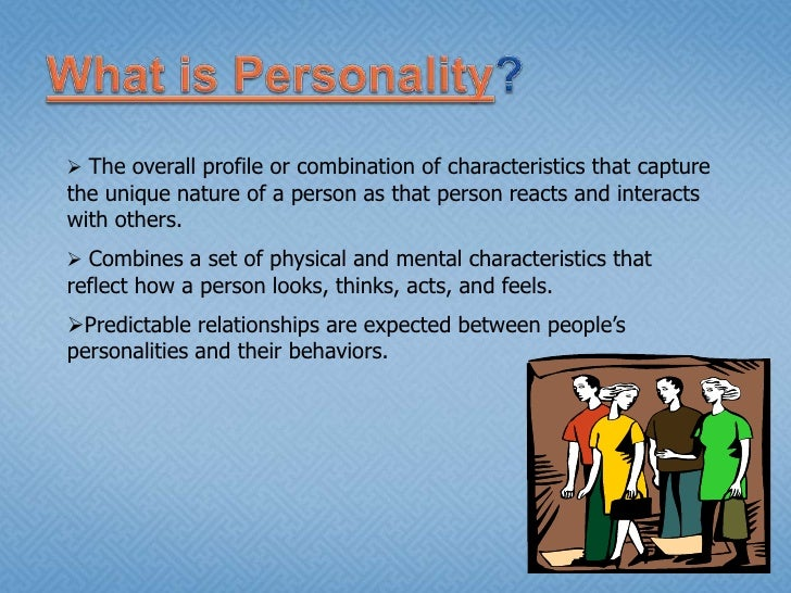 what is personality The big five personality traits, also known as the five factor model (ffm), is a model based on common language descriptors of personality.