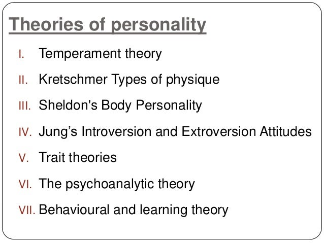 a discussion of the jungian theory of personality Jpp/jsp student portal jungian psychotherapy program & jungian studies program the programs, which run from october to june of each year, include 144 hours of instruction in jungian theory, 54 hours of small group consultation, and 36 hours of large group process--all provided by jungian psychoanalysts.