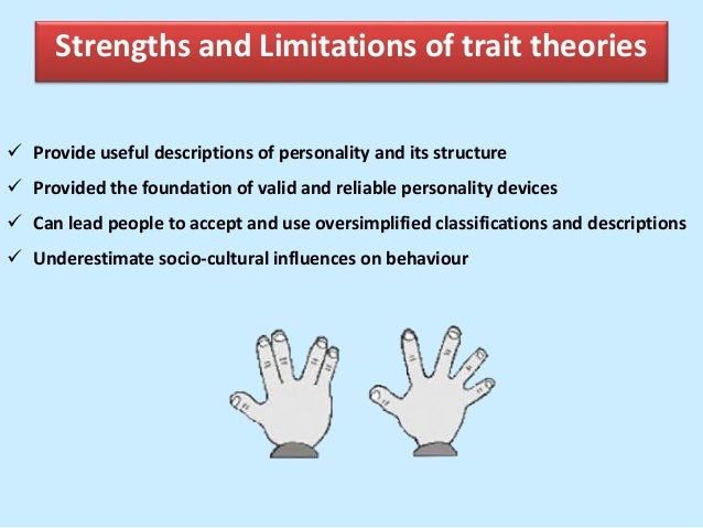 what are the limitations of the trait theory
