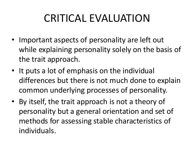 an introduction to the concept of personality Jungian concepts are very difficult to measure and validate scientifically, so we've instead chosen to rework and rebalance the dimensions of personality called the big five personality traits, a model that dominates modern psychological and social research.