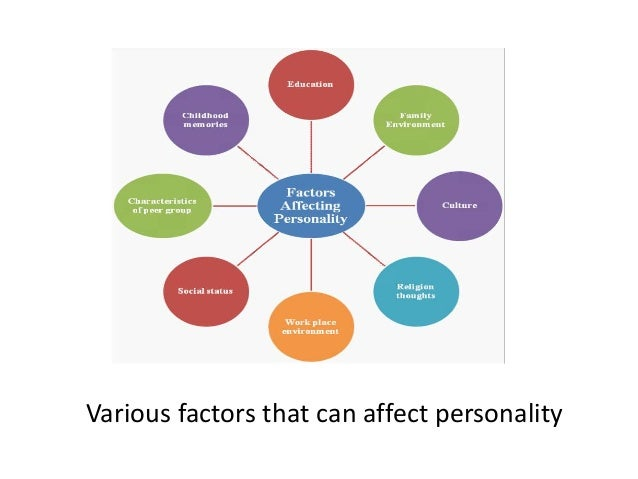 does environment affect personality