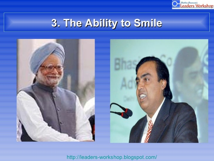 3. The Ability to Smile