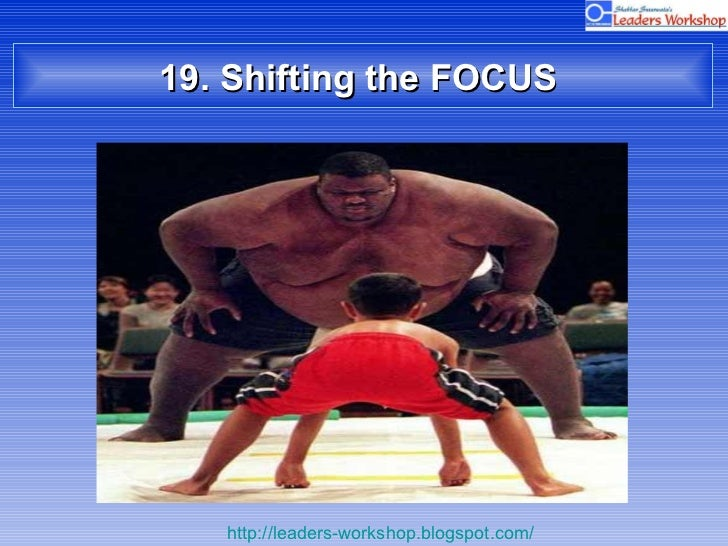 19. Shifting the FOCUS