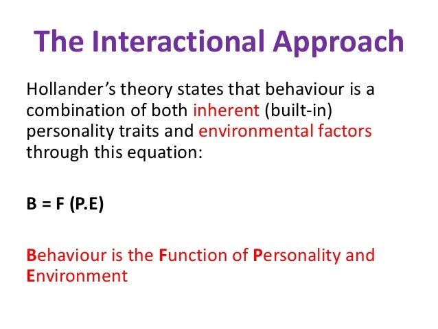 interactional view theory