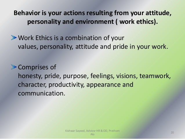 values and attitudes of the characters Nursing practitioners, much like other professionals, have unique binding values, attitudes.