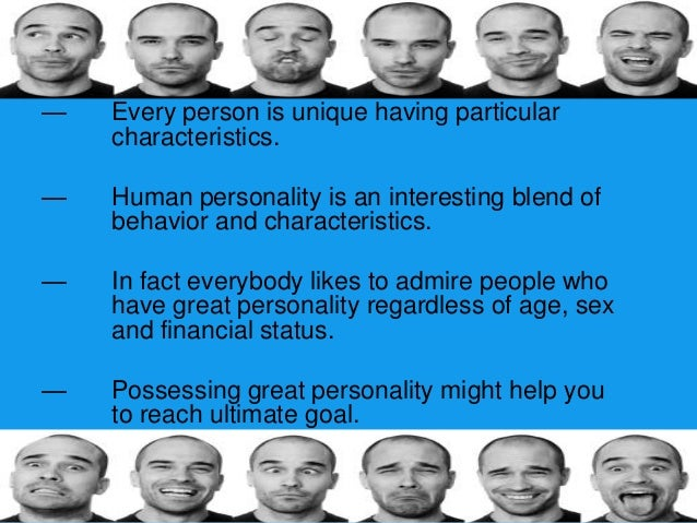 Personality is consistent and enduring-—   Marketers cannot change consumers personalities to    conform to their products...