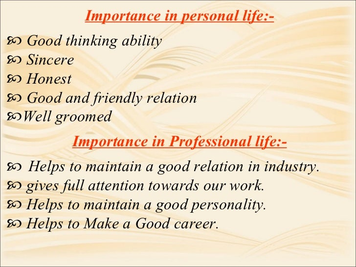 personality development ppt by taher salim indore  77