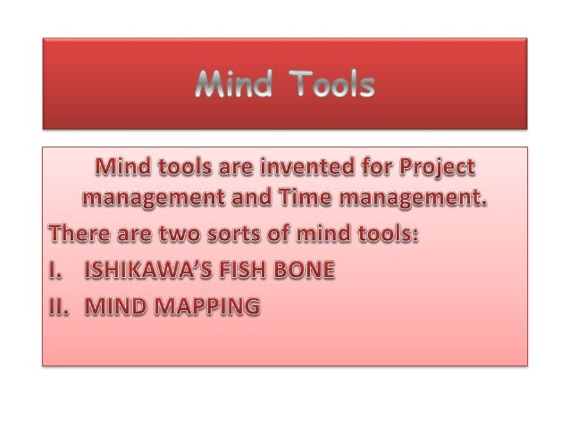 Personality development classes project 2 (mind tools)