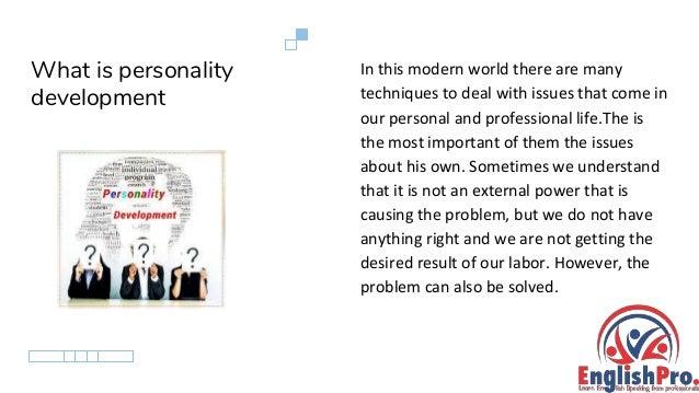 Personality development course in Chandigarh Slide 2