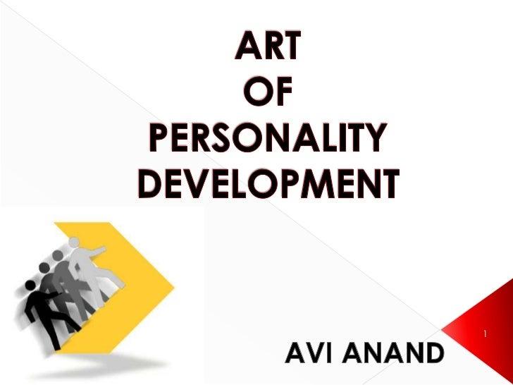 Personality development avi Slide 1