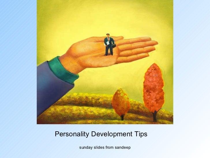 Personality Development Tips