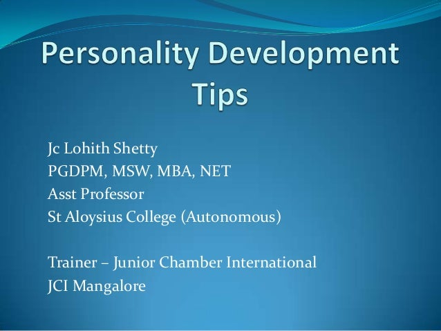 essays on personality development Essay: personality development through sports the role of sports in the modern society becomes increasingly important by the day the issues brought up to the daylight by this complex activity are in the focus of various medical, pedagogical, psychological, sociological, philosophical, and economical studies.