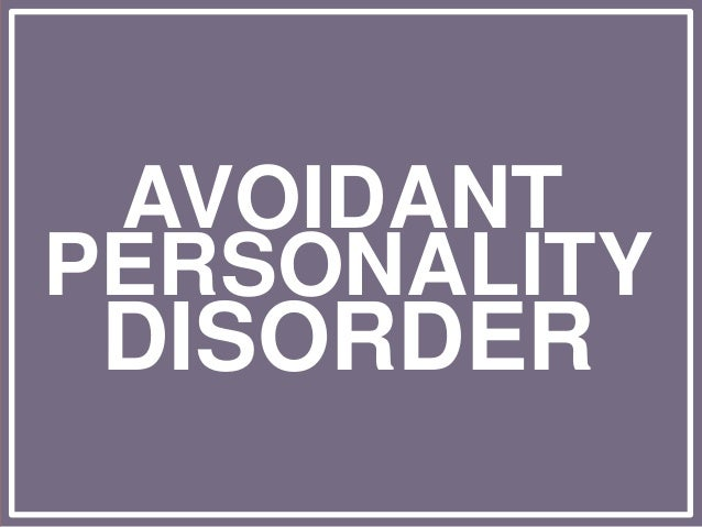 Personality Disorders & Impulse Control Disorder