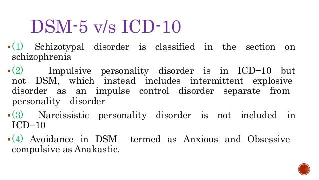 Personality disorder CLUSTER A