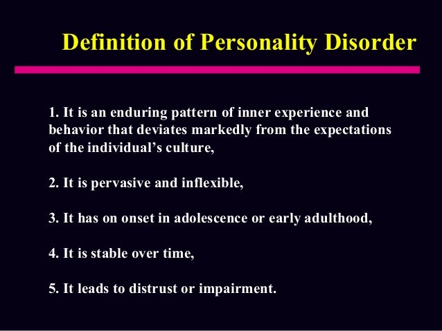 a description of psychological abnormality Physician form last updated 11/14/2017  are an individual's own perception or description of the impact of his or her physical  or psychological abnormality.