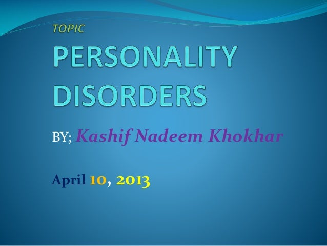 BY; Kashif Nadeem Khokhar  April 10,  2013