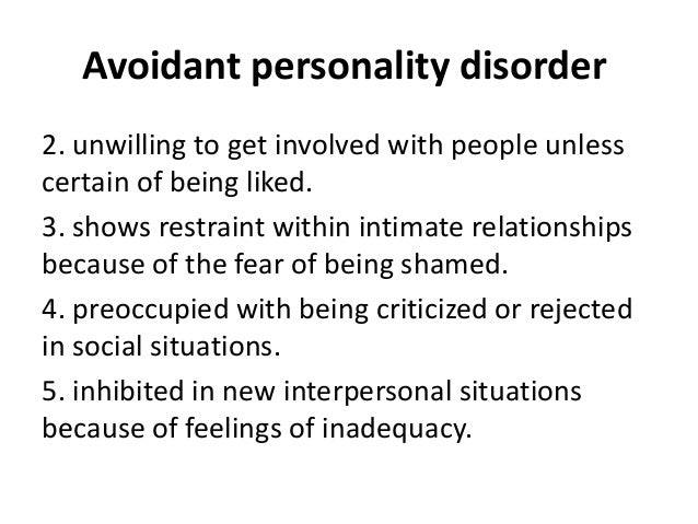 causes of personality disorders pdf