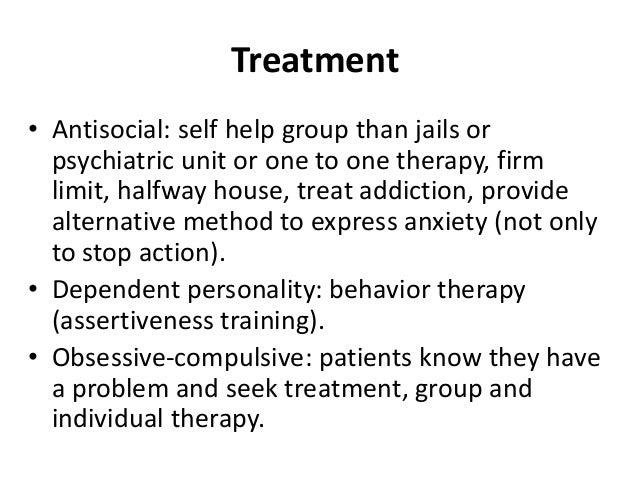 avoidant personality disorder treatment self help