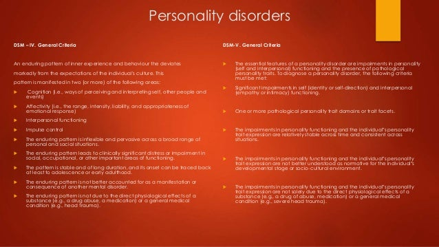 personality disorders antisocial borderline