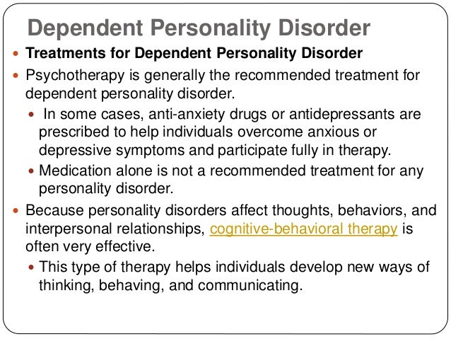 the characteristics of echo personality disorder a form of dependent personality disorder