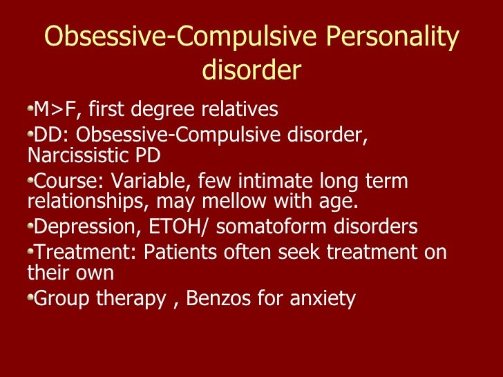 Obsessive-compulsive disorder (OCD) - Symptoms and causes