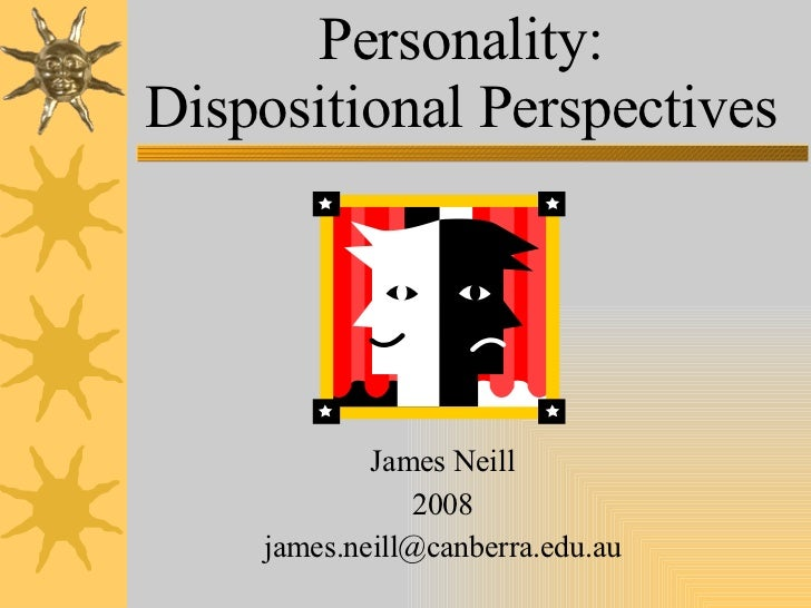 dispositional personality theories matrix Dispositional affect is different from emotion or affect, by being a personality trait while emotion is a general concept for subjective responses of people to certain situations emotion includes both general responses (positive or negative emotion) and specific responses (love, anger, hate, fear, jealousy, sadness etc.