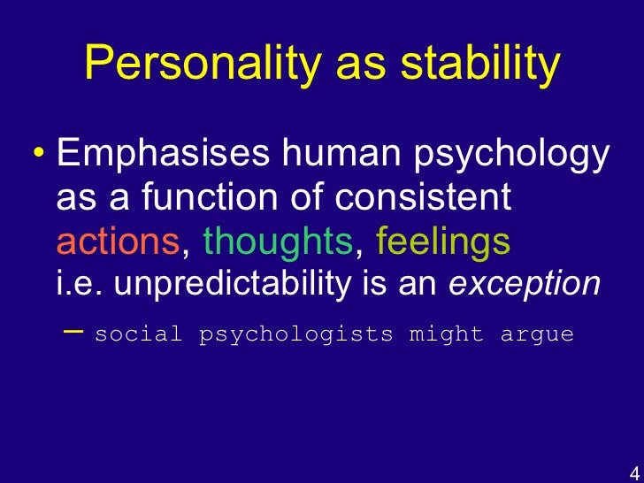 personality perspectives Understanding social and personality development requires looking at children from three perspectives that interact to shape development the first is the social context in which each child lives, especially the relationships that provide security, guidance, and knowledge.