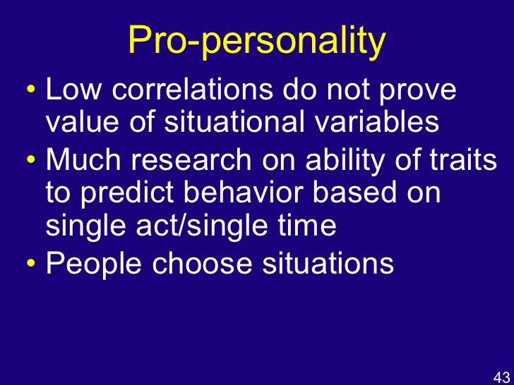 choosing between mischel and rotters explaining personality Understanding why some children show resilience in the face of adversity  whereas  dynamic conceptualisation of personality (mischel & shoda, 1995 in  press)  previous social learning research and theorising (kelly, 1955 rotter,  1954),  this case, then, to some extent, the child must choose between the  goals of his.